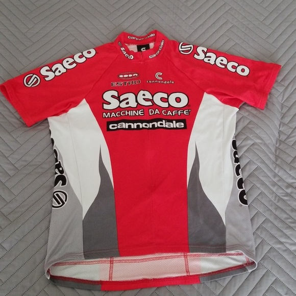 c0942e5a2 Cannondale Other - Cannondale Saeco Cycling Jersey Size XL
